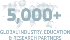 5000+ Global industry, education & research partners